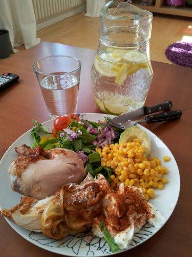 mat efter styrketräning