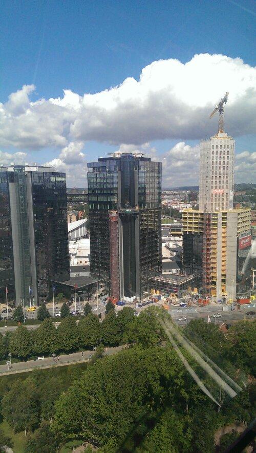 Utsikt från Lisebergshjulet...